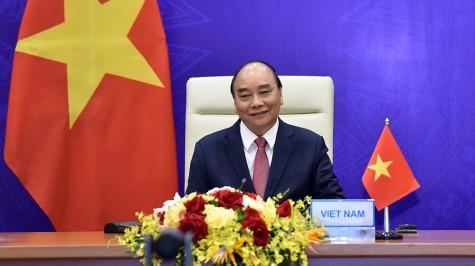 越南国家主席阮春福出席领导人气候峰会并发表重要讲话