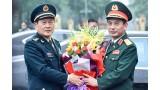 中国国防部长对越南进行正式访问