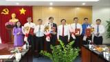 Tỉnh ủy trao quyết định nghỉ hưu và điều động, bổ nhiệm cán bộ