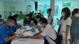 Tiếp nhận hơn 100 đơn vị máu tại ngày hội hiến máu tình nguyện