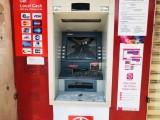 Nhiều trụ ATM bị kẻ gian phá hoại