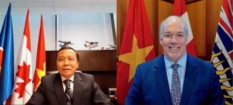 Vietnam reinforces ties with Canadian province