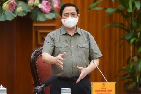 政府总理范明正要求严惩引发新冠肺炎疫情蔓延的个人和集体