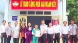 MTTQ TP.Thuận An: Phối hợp trao nhà đại đoàn kết cho hộ nghèo