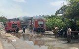Cháy lớn ở công ty gỗ rộng 5.000m2
