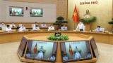越南政府总理范明正主持第一次政府例行会议