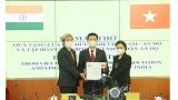 越南向印度人民赠送100台呼吸机