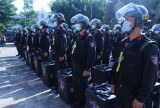 Bộ Tư lệnh Cảnh sát cơ động tăng cường hỗ trợ bảo vệ bầu cử