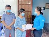 Thành đoàn Dĩ An: Hỗ trợ thiếu nhi bệnh hiểm nghèo