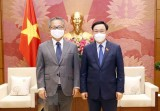 Top legislator hosts Japanese Ambassador