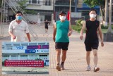 Người dân tuân thủ quy định phòng, chống dịch bệnh khi tập luyện thể thao
