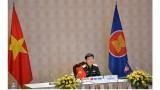 东盟地区论坛国防官员对话会以视频方式召开