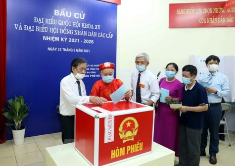 Thời điểm công bố kết quả bầu cử Quốc hội và Hội đồng Nhân dân