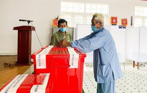 Bình Dương: Tỷ lệ cử tri đi bầu cử đạt 99,43%