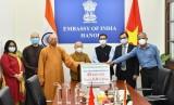 越南佛教协会向印度人民捐赠33台呼吸机