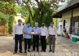 原国家主席阮明哲为新冠疫苗基金会捐款