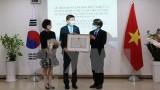 前韩国驻越南大使李赫荣获越南的友谊勋章