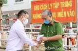 Lãnh đạo LĐLĐ tỉnh tiếp tục thăm hỏi, tặng quà tuyến đầu chống dịch Covid-19
