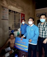 Huyện đoàn Bắc Tân Uyên hỗ trợ thanh niên khó khăn
