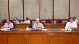 越共中央总书记阮富仲:将新冠疫情防控工作放在首位