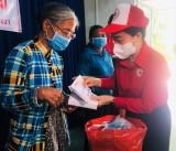 Hỗ trợ người dân bị ảnh hưởng bởi thiên tai ở huyện  Dầu Tiếng