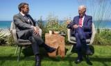 Tổng thống Mỹ, Pháp thảo luận một loạt vấn đề quan trọng bên lề G7