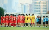 Tuấn Anh, Hai Long tập riêng sau khi Việt Nam đánh bại Malaysia