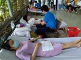 200 y, bác sĩ Bệnh viện Becamex Bình Dương tham gia hiến máu tình nguyện