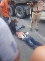 Cảnh sát giao thông truy đuổi bắt giữ tài xế dương tính với chất ma túy