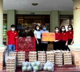 Hội Chữ thập đỏ tỉnh: Tiếp nhận nguồn lực và trao tặng hàng hóa phòng, chống dịch