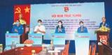 Hội nghị trực tuyến cán bộ Đoàn chủ chốt học tập, quán triệt Nghị quyết Đại hội XIII của Đảng