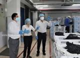 巴乌邦县:对于企业防疫工作进行检查监督
