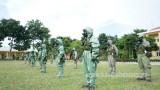 Người lính phòng hóa trên mặt trận chống dịch…