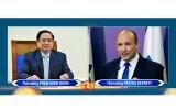 越南政府总理范明正同以色列总理纳夫塔利·本内特通电话