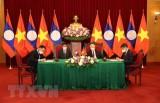 Pathet Lao newspaper spotlights close-knit Vietnam-Laos ties