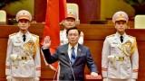 王廷惠同志当选为越南第十五届国会主席