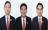 Phê chuẩn Chủ tịch, Phó Chủ tịch UBND 3 tỉnh