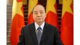 越南国家主席阮春福致信日本首相祝贺日本举办2020年东京奥运会和残奥会