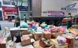 Hơn 68 tấn hàng hóa từ các tỉnh hỗ trợ Bình Dương phòng, chống Covid-19