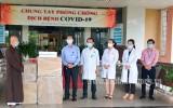 Trung ương Giáo hội Phật giáo Việt Nam: Tặng máy thở hỗ trợ điều trị Covid-19