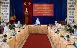 Chủ tịch nước Nguyễn Xuân Phúc kiểm tra công tác phòng, chống dịch ở TP.Thuận An, Bình Dương