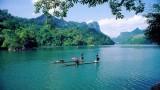越北森林中令人印象深刻的旅游胜地——三海湖