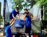 Thu hoạch 2 tấn cá trao cho người dân khó khăn do ảnh hưởng dịch bệnh
