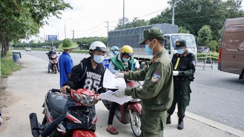 Không để người dân rời khỏi địa bàn nơi cư trú khi chưa được chính quyền cho phép