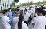 Lãnh đạo tỉnh Bình Dương thăm hỏi, động viên tuyến đầu phòng chống dịch
