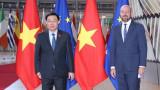 越南国会主席王廷惠圆满结束欧洲之行