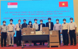 Province receives medical equipment from Singapore's Sembcorp Group
