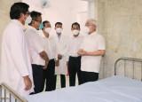 Mobile medical station in enterprises set up