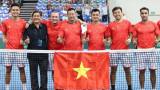 越南网球队获得2022年世界戴维斯杯男子网球集体赛世界二组附加赛的入场券
