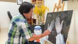九龙江三角洲地区艺术家为抗疫鼓劲